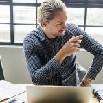 Finding the cause of job dissatisfaction of the employees